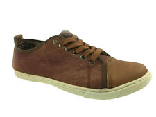 MENS FAUX LEATHER COMFORT INSOLE LACE UP CASUAL WALKING SHOES SIZE 7-12