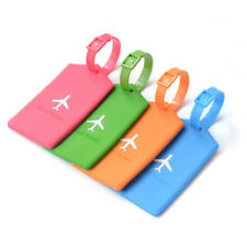 Travel Luggage Tag Cartoon Label Address ID Name Luggage Tag Suitcase Tag