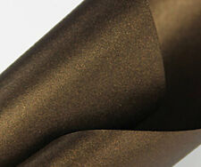 10x Bronze Pearlescent Coloured Card Stardream Pearlised Card A4 / A5 285gsm