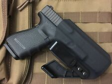 MIE Productions Kydex AIWB Ambidextrous Holsters with Concealment Claw