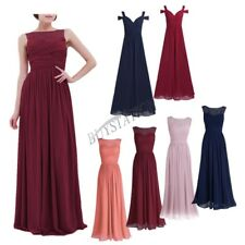 Formal Long Women Lace Prom Evening Party Cocktail Bridesmaid Wedding Maxi Dress