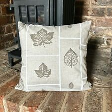 Handmade Maple leave 100% Cotton Cushion Cover. Various sizes
