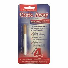 12 Packs - Crafe Away Stop Smoking Cigarette with Tobacco Flavour