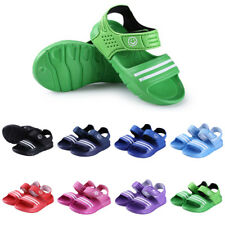Kids Boys Girls Infants Sandals Toddlers Anti-Slip Shoes Summer Beach Soft Shoes
