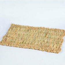 Woven Grass Mat for Rabbits Small Animals Natural Handmade Seagrass Mat Great
