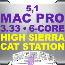 Apple Mac Pro 2010 3.33 GHz HEX 6 core • A1289 • HIGH SIERRA 10.13 • CAT STATION