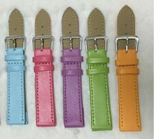 10-24 mm Unisex PU Simple Band Watch Band Strap in All Colors and All Sizes