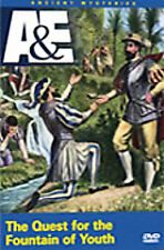 Fountain of Youth Early Florida Ponce de Leon Spanish Explorer History A&E DVD