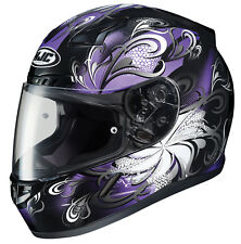 HJC Adult CL-17 Cosmos Purple/Black Full Face Motorcycle Helmet Snell DOT