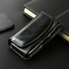 Premium Real Leather Universal Pouch Case Cover Holster/Belt Clip Apple Android