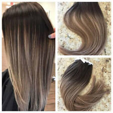 New European Remy Tape  in Human Hair Extension Ombre Blonde Straight  7pcs/100g