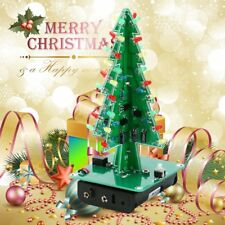 Christmas tree Decorations LED Marquee flashing light DIY Kit Green Circuit XU