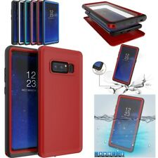 For Samsung Galaxy Note 8 Water Shock Dust Proof case Cover Defender With Film