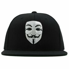 Anonymous Guy Fawkes V for Vendetta Mask Snapback Hat