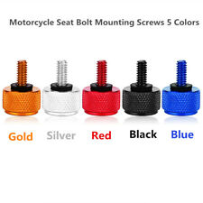 Motorcycle Seat Bolt Mounting Screws 5 Colors for Harley Davidson 1996 & Late LJ