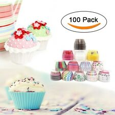Paper Cake Baking 100pcs Cup Cupcake Muffin Cups Oil Liner Resistant Party