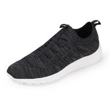 Mens Fashion Flyknit Athletic Sneakers Breathable Running Walking Sports Shoes