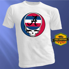 Grateful Dead Shirt Atlanta Braves Baseball Steal Your Face Deadhead Logo Tee