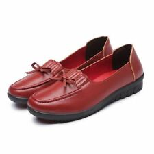 Women Platform Spring Slip On Loafers Comfortable Shoes PN584