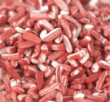 Kerry Peppermint Candy Cane Sprinkles - Pick a Sze - Free Expedited Shipping