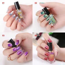 7ml Laser Colorful Gradient Sequins Nail Polish Clear Nail Polish Nail Art NEW