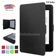 Smart Slim Magnetic Leather Guard Case Cover For Amazon Kindle Paperwhite 1 2 3