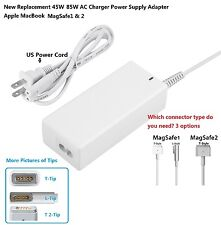 New 45W 85W Charger Power Supply Adapter Apple MacBook Pro1& 2 A1424 13 15 18 in