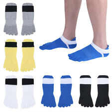 Men's casual 5 Pairs Ankle Low Cut Socks Comfortable Five Toe Socks Sports Yoga