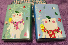 Cute Polar Bear Post-it Sticky Note Memo Pads 12 in 1 Floding Book Nice Gift New