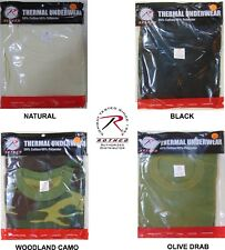 Thermal Knit Cold Weather SHIRT Long John Underwear Military TOP Rothco NEW