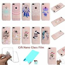 FASHION CUTE CHIC RUBBER SILICON CLEAR TPU SOFT Back Case Cover Skin For iPhone