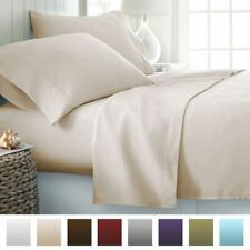 US Bedding Item-100% Egyptian Cotton 1000 TC By-Cottn2016 Ivory Solid