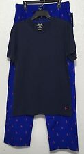 Polo Ralph Lauren Men Sleepwear Pajama Sets Lounge Pant Nightshirt Sz M L XL New