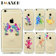 Wholesale For iphone 5/ 5s  Watercolor Art Soft TPU Case 10/20 PCS Minnie Mickey