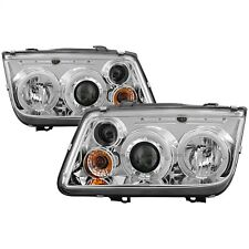 Spyder Auto 5012265 Halo LED Projector Headlights Fits 99-05 Jetta
