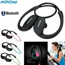 Mpow Wireless Bluetooth Sports Stereo Headphones Earphones Headset With Mic New