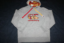 Canterbury Mens Uglies Hoodies Hoody Jumper Grey  M L