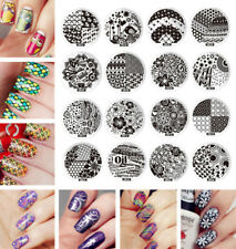 Nail Art Stamp Stamping Template Image Plate DIY Manicure