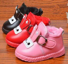2017 Infant Baby Warm Shoes Toddler Girls Walking Shoes Boots Flexible Sole