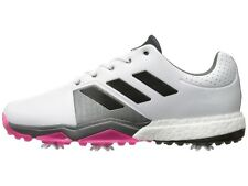 NEW MENSADIDAS ADIPOWER BOOST 3 WHITE GOLF SHOES Q44761-Q44766 -PICK SIZE/WIDTH