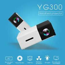YG300 Mini LED Projector HD 1080P 400-600LM 1920 * 1080 Home Media Player