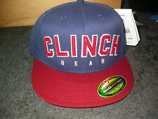 CLINCH GEAR BASEBALL CAP HAT FITTED XL . MMA BJJ MUAY THAI BOXING JUDO UFC NEW