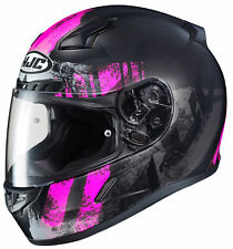 HJC Adult Pink/Black CL-17 Arica Motorcycle Full Face Helmet Snell DOT