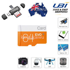 64GB High Speed Class 10 Micro SD TF Flash Memory Card for Camera Mobile Phone