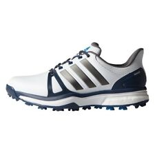 NEW MEN'S ADIDAS ADIPOWER BOOST 2 WHITE/BLUE GOLF SHOES Q44661/Q44665 -PICK SIZE