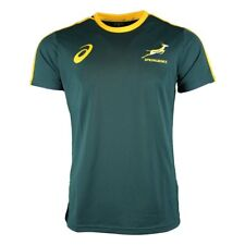 Asics South Africa Springboks Supporters Rugby Tee 2017 - Bottle Green