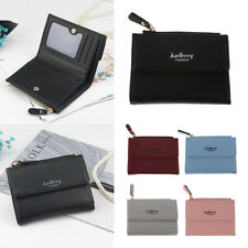 SMALL LEATHER COIN CARD WALLET COIN MINI PURSE WALLET CHANGE POUCH MONEY BAG ZIP