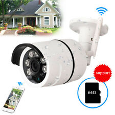 Wireless 720P Outdoor WIFI  IP Camera SD Slot Network Night Vision CCTV Security