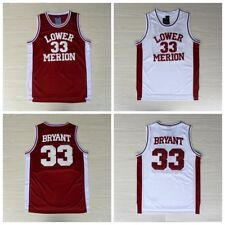 Kobe Bryant #24 Lower Merion High School Basketball Throwback Jersey - Sizes S -
