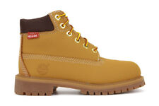 "NEW Timberland 6 Inch Premium ""Helcor"" 6576R Little Kids Wheat Waterproof Boots"